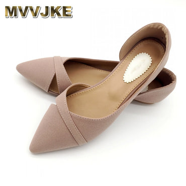 Ballet Flats Soft Slip On Single Flat Shoes