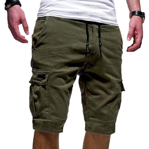 Army Camouflage  Cotton Loose Work Casual Short