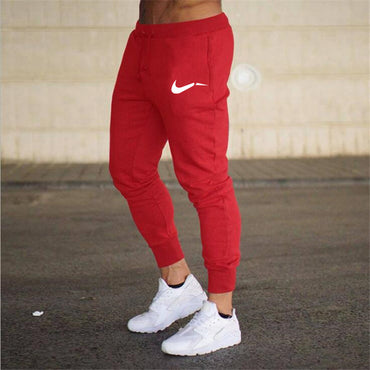 Fitness Athletic Pants Printed Casual Pants