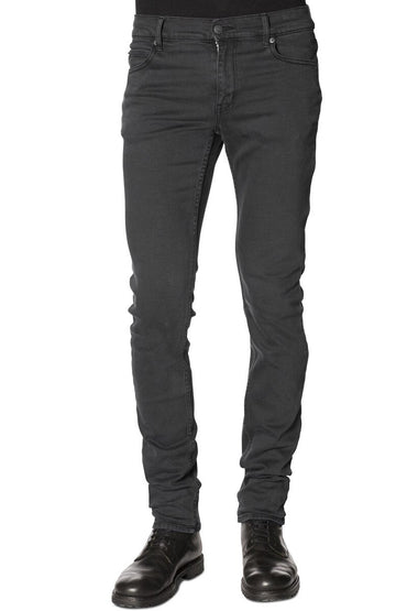 Slim Fit Elasticity Dark Gray Skinny Pencil Pants