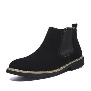 Casual Pointed Toe Chelsea Boots
