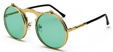 unisex retro steampunk sunglasses
