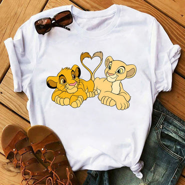 Lovely Lion King  Tshirts