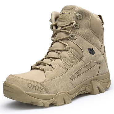 Special Force Tactical Desert Combat Ankle Boots