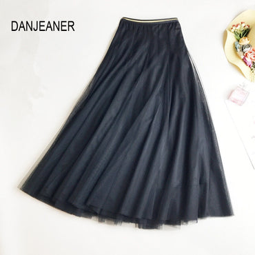 Long Tulle Skirts