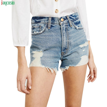 Vintage Light Blue Denim Shorts