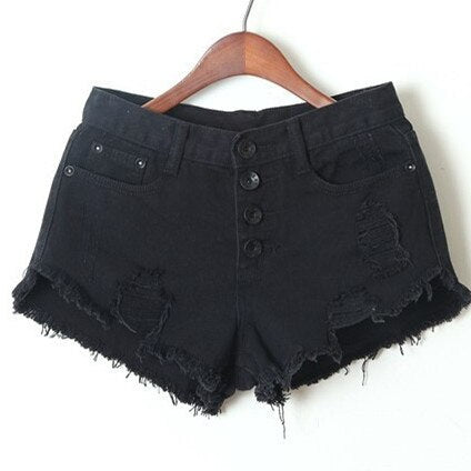 Casual Wild Denim Shorts
