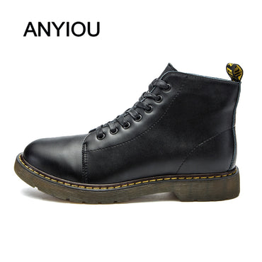 Casual Shoes Low-top Leather Boots