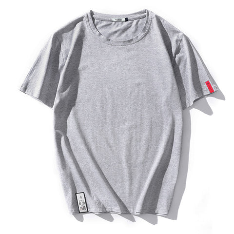 Solid LOOSE Short Sleeve T Shirt