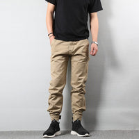 Khaki Color Big Pocket Cargo Jeans
