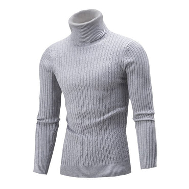 Solid Color Long Sleeve Knitted Warm Jumper Pullover Sweaters