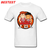 Japan Anime Tees Cotton Clothes Slam Dunk t-shirt