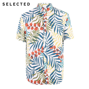 Loose Fit Printed Short-sleeved Shirt