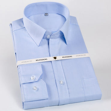Cotton Long Sleeve Dress Shirts