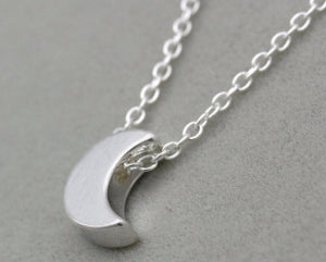 Silver Plated Love Short Necklace