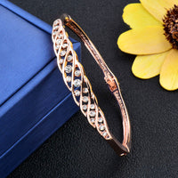 Elegant Hollow Bangle Cuff Bracelet & bangles