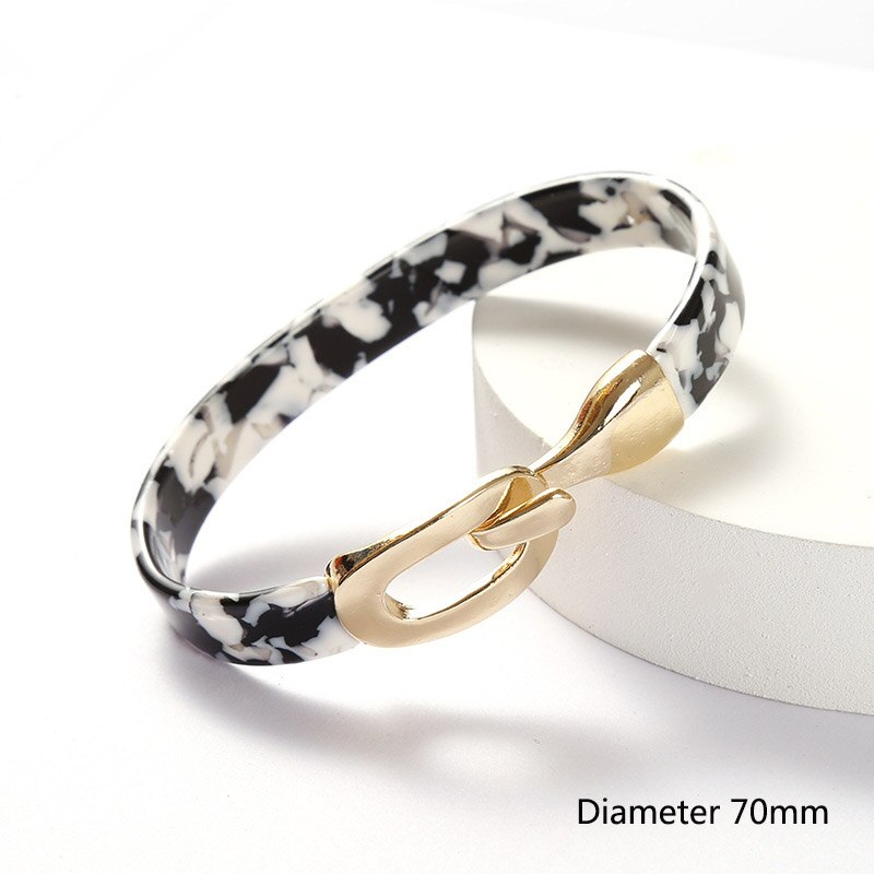 Acrylic Sheet Adjustable Bracelet & bangles