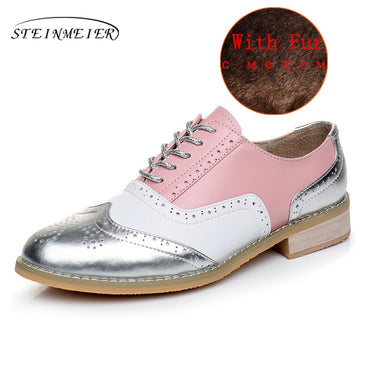 genuine leather loafers Flats Shoe