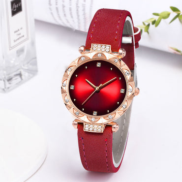 Leather Casual Watch