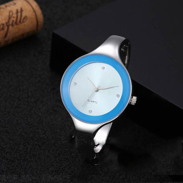 Stainless Steel Bracelet Casual Wrist Watch