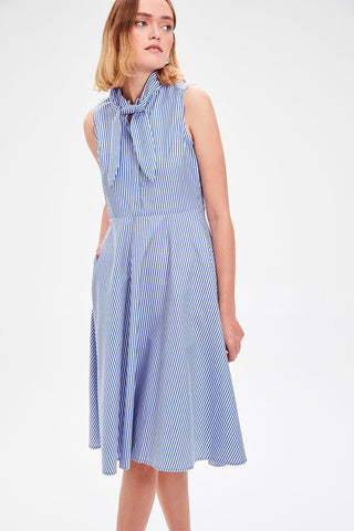 Trendyol Blue Striped Dress