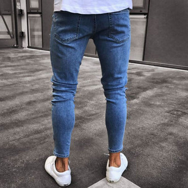 Casual Thin Classic Cowboys Young Jeans