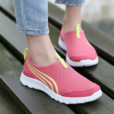 Light Sneakers Breathable Mesh Shoes & Sneakers