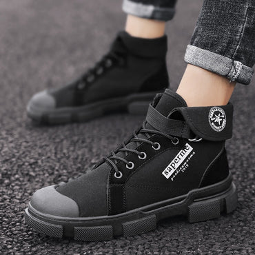 Hight-top Workwear Combat Boots