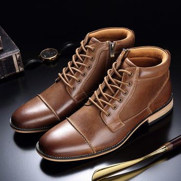 Genuine Leather Martin Boots
