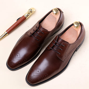 Formal Wear Leather Oxford shoes