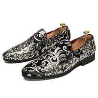 Personality Embroidery Tide Oxford shoes