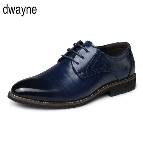Middle-aged Pointed toe dad Working Oxford shoes