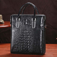 Genuine leather  business  A briefcase Handbags
