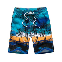 Hawaiian Trunks Quick Dry Beach Surfing Running Swimming Shorts