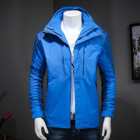 Windbreaker 3 in 1 Liner and Hat Detachable Jackets & Coats