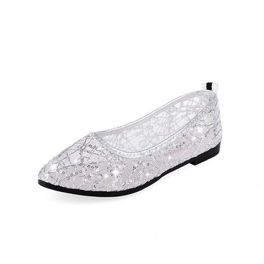 slip on cut outs Flats Shoes