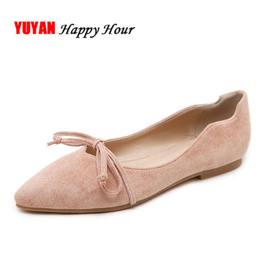 Pointed toe Single Flats Shoes