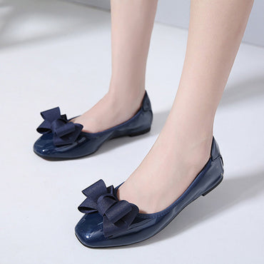 Sweet Butterfly Knot  Flats Shoes