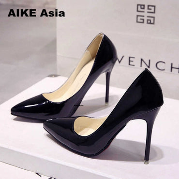 pumps thin heel