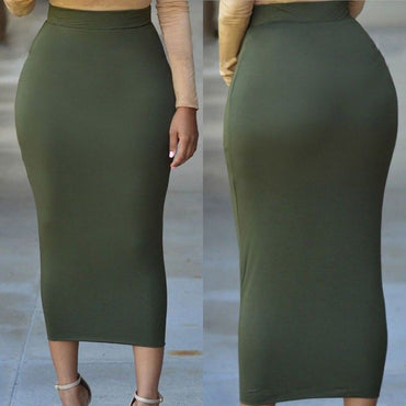 Muslim Thick Solid Skirt