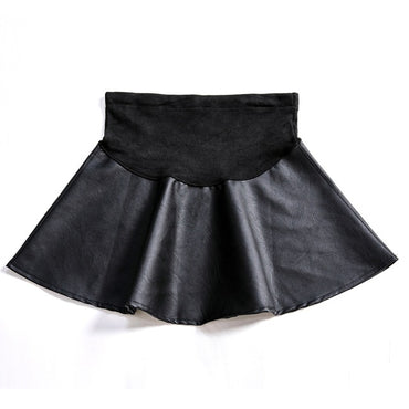 small leather skirt stomach lift Half body skirt