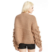Long Sleeve Loose Thick Cardigan Sweater