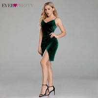 Sexy Velour Cocktail Dresses