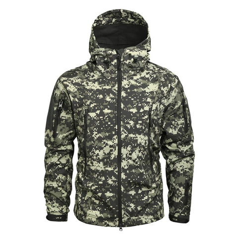 Military Jacket US Army Tactical Sharkskin Softshell Jackets & Coats