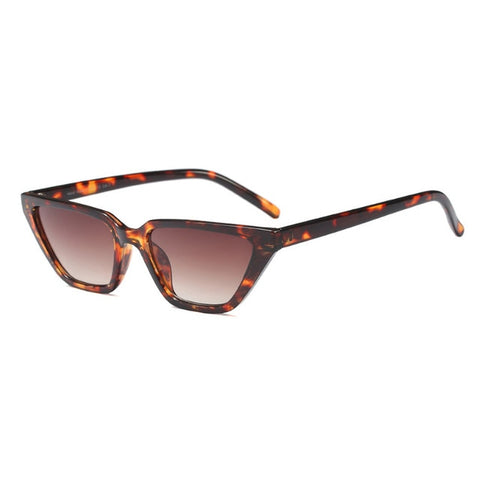 Retro Square Cat Eye Sunglasses