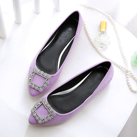 large-size flat-bottomed Flat shoes