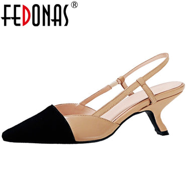 Vintage Pointed Toe sandals