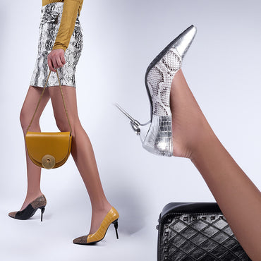 Pu Night Club Heels