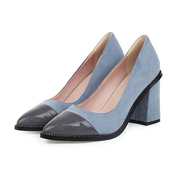 Party Pumps Color Matching Heels