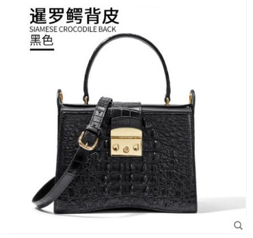 genuine crocodile handbag